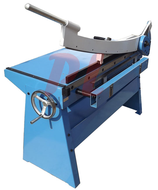 Guillotine shear 40 x 20 gauge sheet metal plate cutting cutter w table bench Bench shear