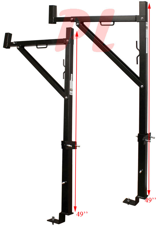 Universal Jacks On Ladders : Universal truck pick up contractor ladder rack carrier
