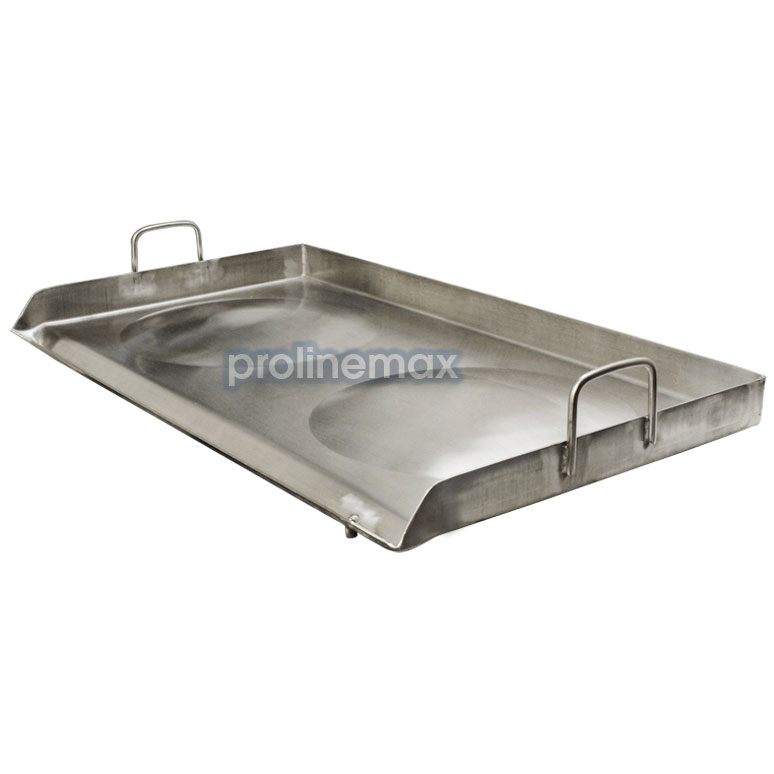 Stainless steel convex comal griddle plancha