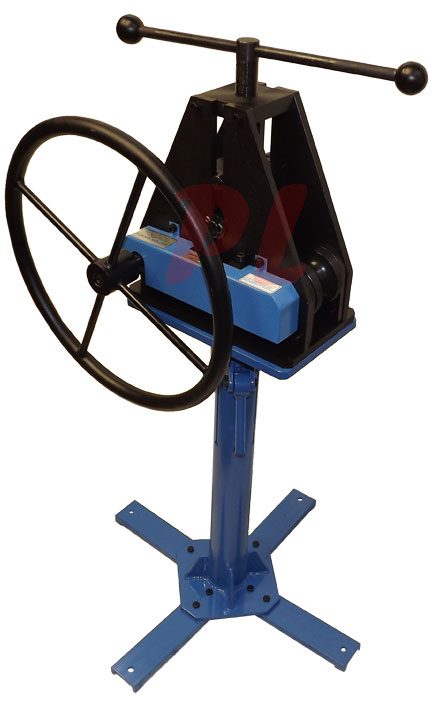 1 1 2 tube pipe roller ring rolling roll bender bending for Fabrication stand